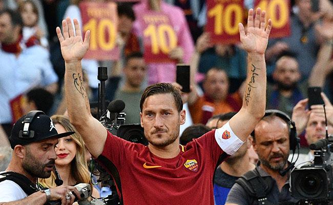 Francesco Totti recibirá el premio Presidente UEFA de 2017