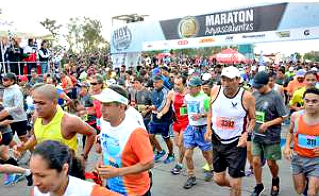 """Maratón Guadalupano"""" con los mejores atletas"""