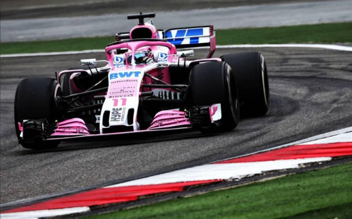 """""""Checo"""" Pérez saldrá octavo en Gran Premio de China"""