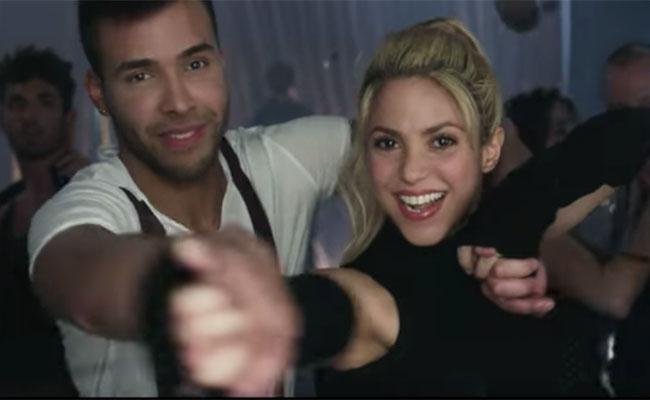 "¡Al fin! Shakira y Prince Royce bailan bachata en ""Deja Vu"""