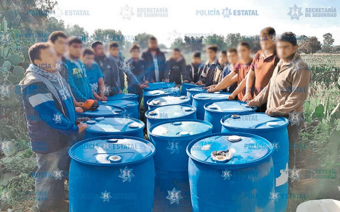 Caen bandas de usureros y huachicoleros en el Estado de México