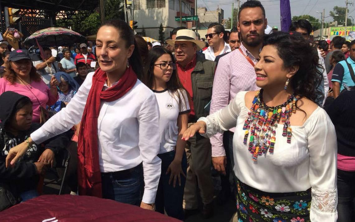Brugada pide a iztapalapenses revelarse para sacar al PRD