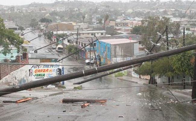 Fuertes lluvias dejan cuatro muertos en Tijuana