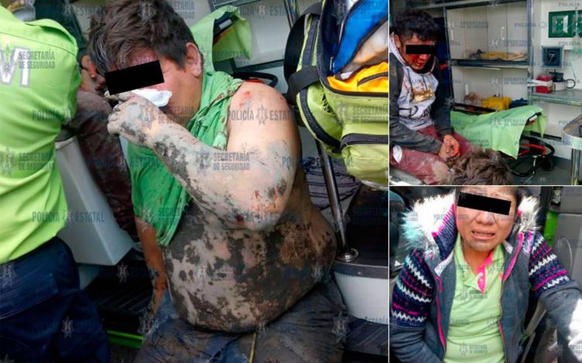 Rescatan a tres personas de ser linchadas en Toluca