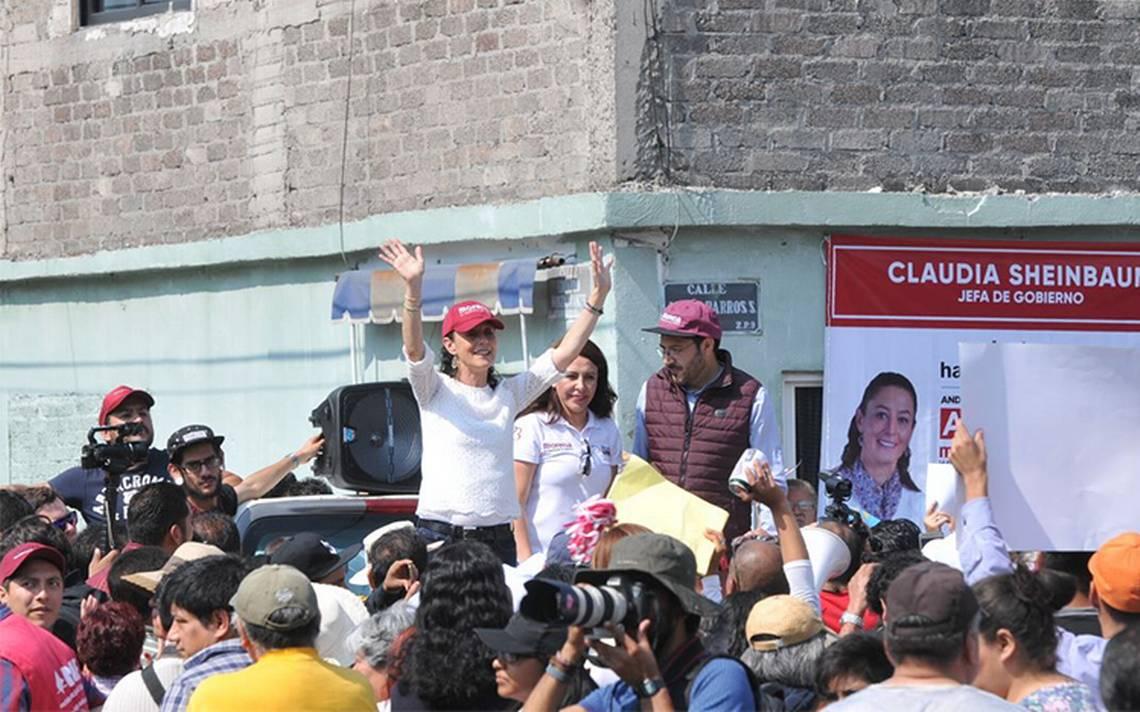 Claudia Sheinbaum asegura que recuperarA? los espacios pA?blicos en la Ciudad de MA�xico