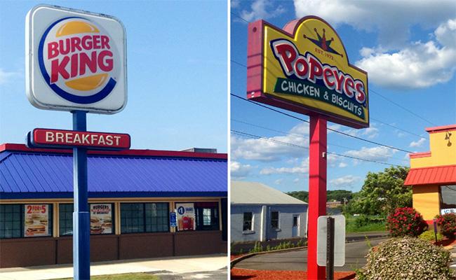 """Burger King """"termina"""" con la competencia; compra Popeyes por mil 800 millones de dólares"""