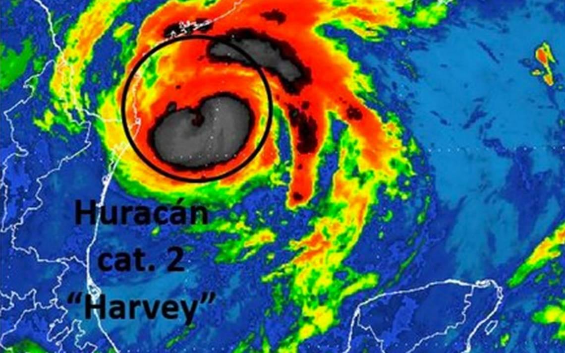 Huracán Harvey amenaza con devastar entidades de Texas y Louisiana