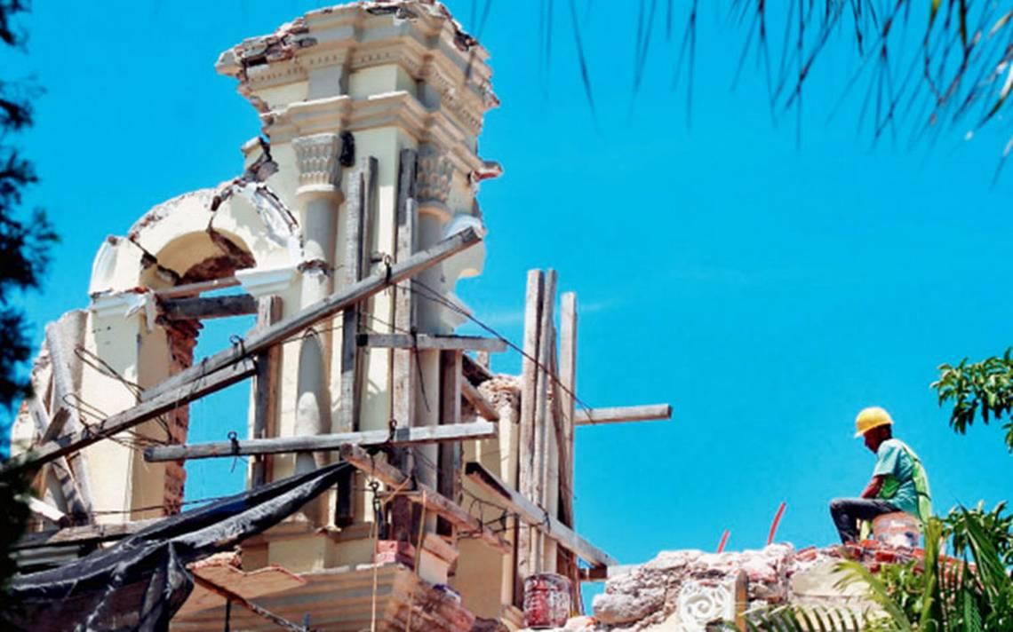 A paso lento reconstrucción en Puebla tras sismo