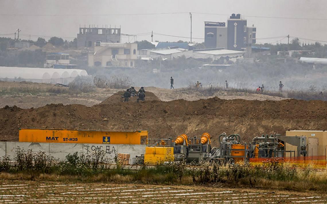 Israel dispara contra tres palestinos que plantaban bombas en la Franja de Gaza