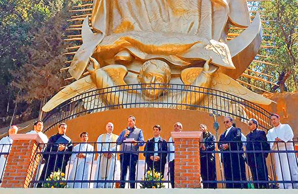 El santuario de Chalma, el tercer más visitado del país