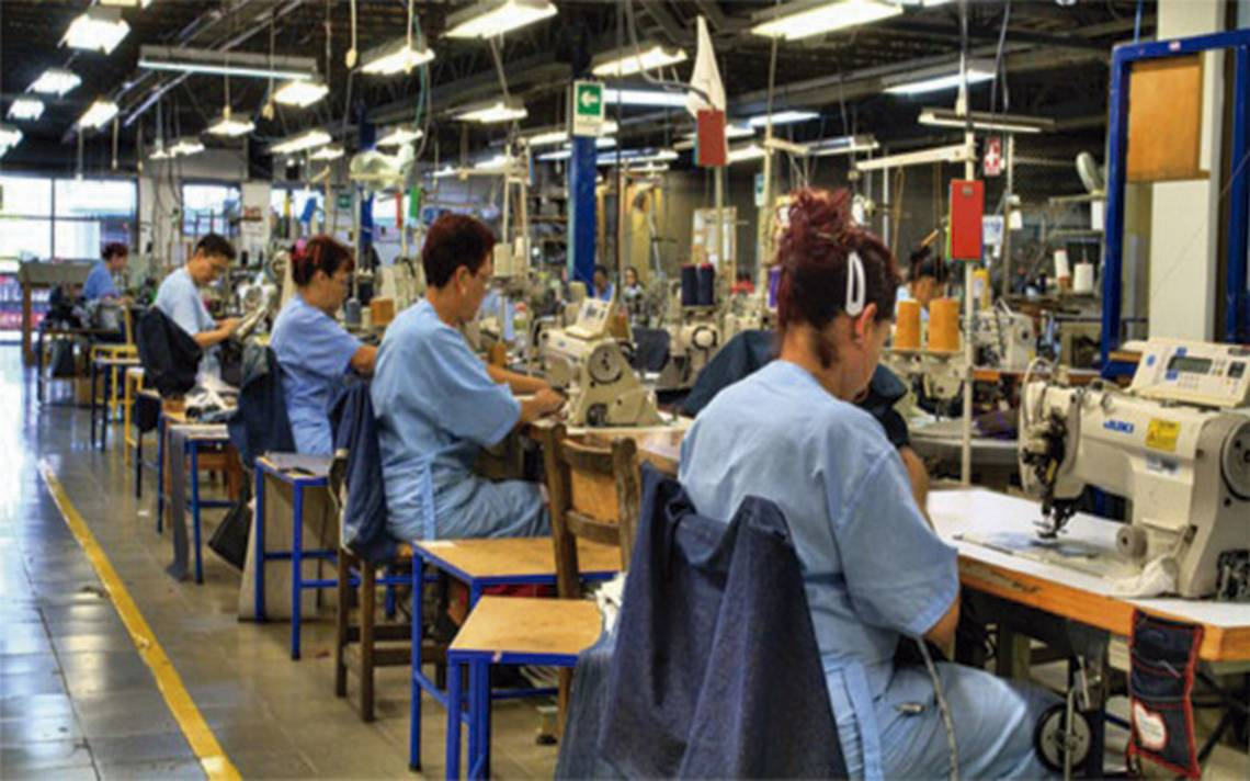 La industria manufacturera incrementa en 4% ocupación a tasa anual