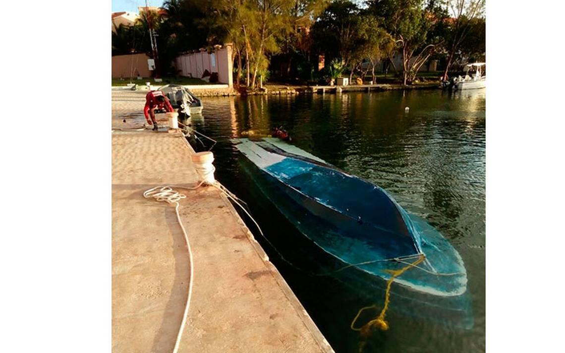 Decomisan en Quintana Roo embarcación con 290 kilos de cocaína