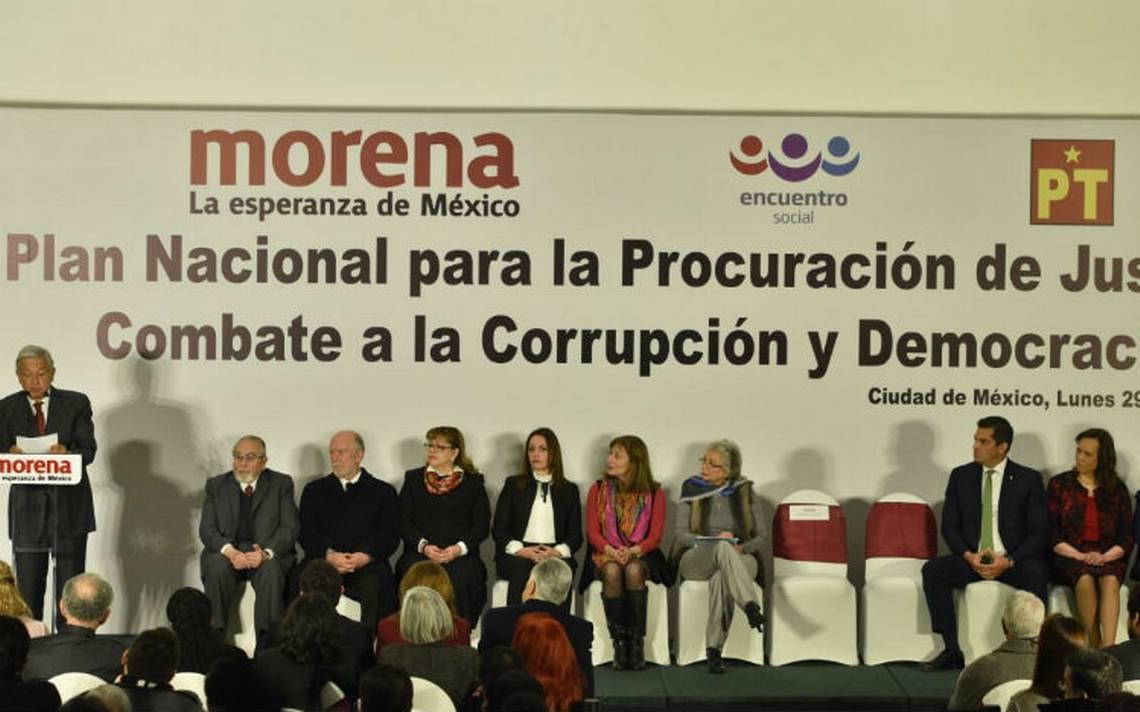 AMLO revela sus propuestas para fiscal General, Anticorrupción y Fepade