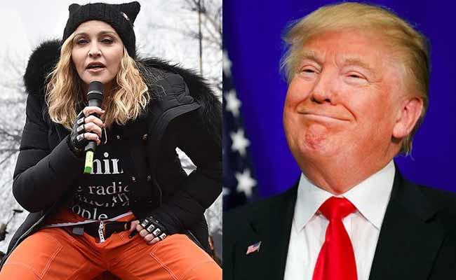 Madonna es una asquerosa, asegura Donald Trump