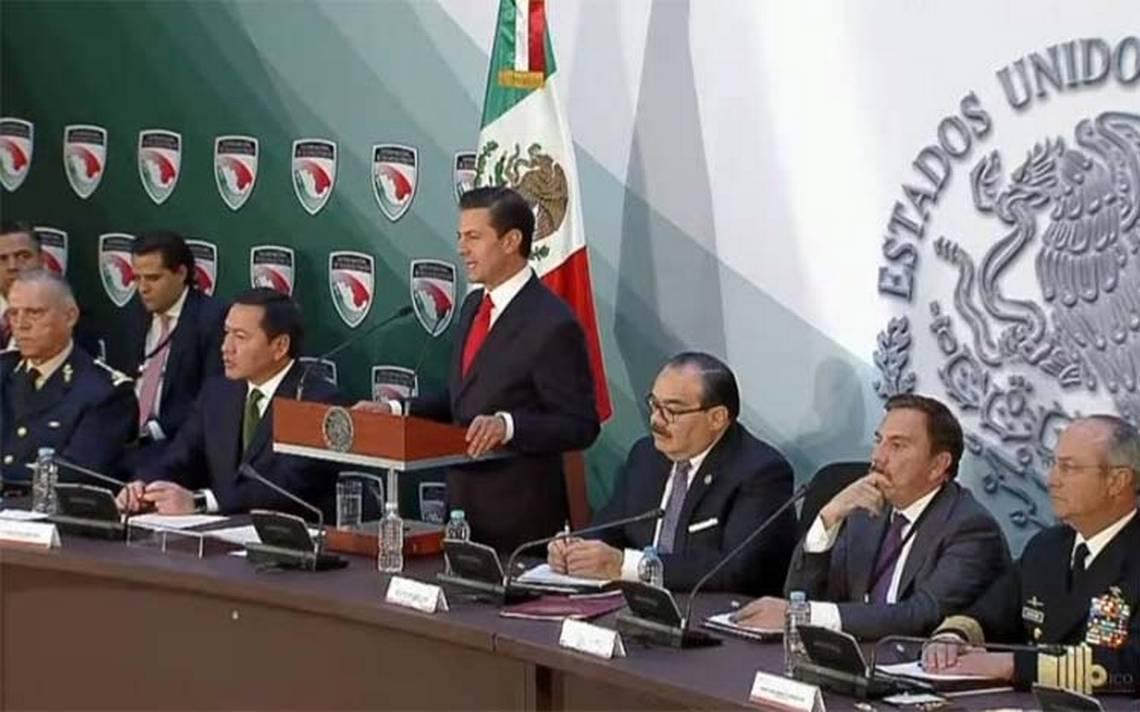 [Documento] Peña Nieto promulga Ley de Seguridad Interior