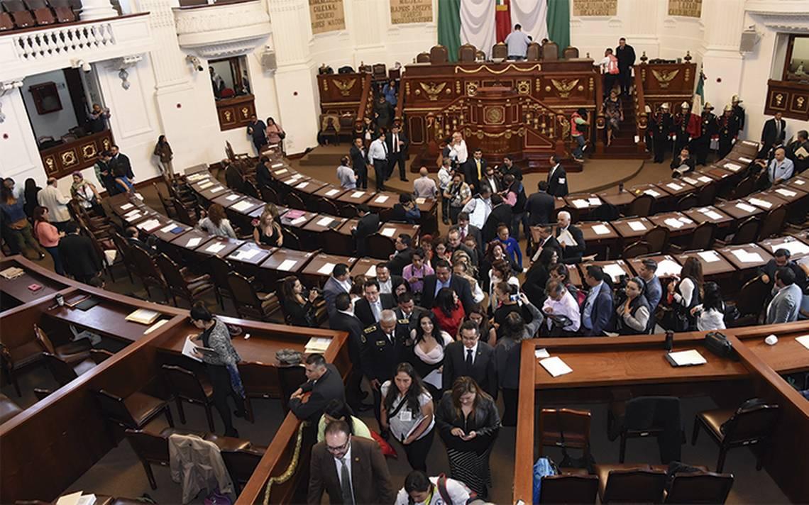Plantean a ALDF donar presupuesto para afectaciones del sismo