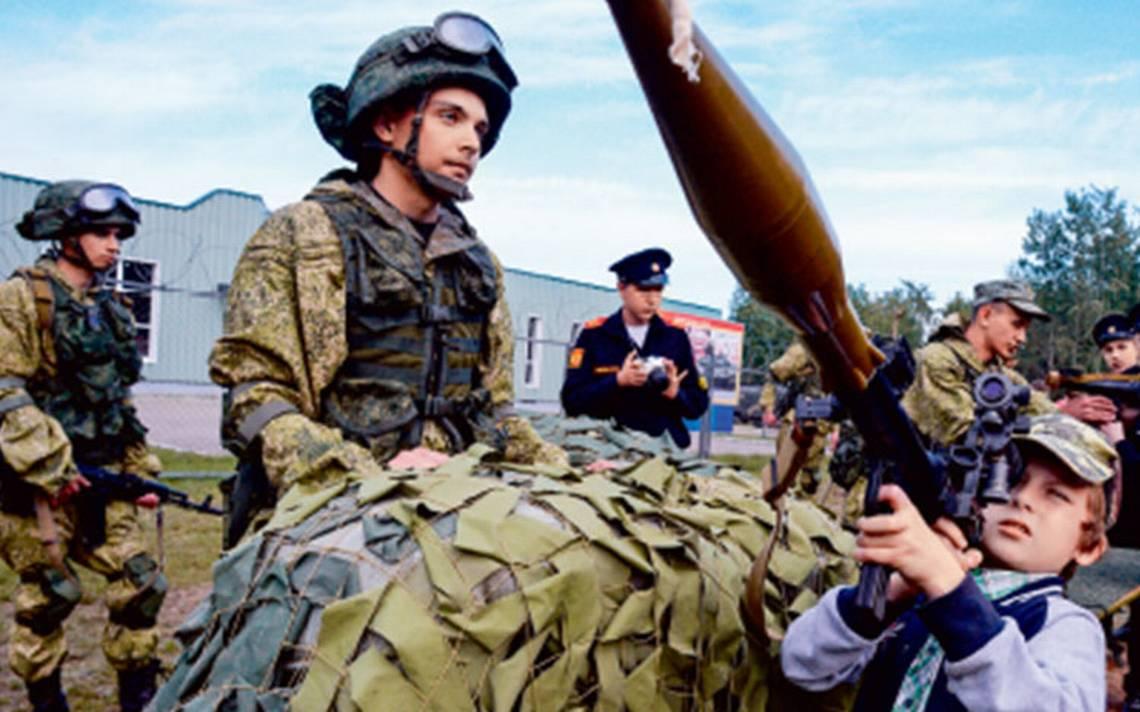 Rusia muestra su músculo para la guerra; China apoyará en maniobras