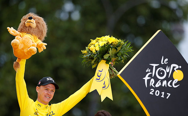 ¡Un grande! Froome se lleva por cuarta vez el Tour de Francia