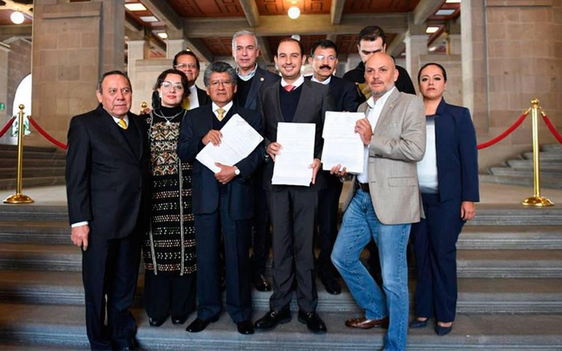 Diputados de oposición impugnan ante SCJN la Ley de Seguridad Interior