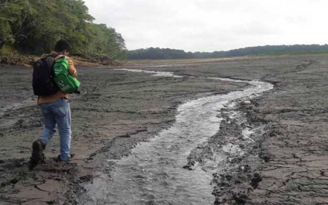 Socavones en la laguna Chakanbakán se formaron de forma natural: Conagua