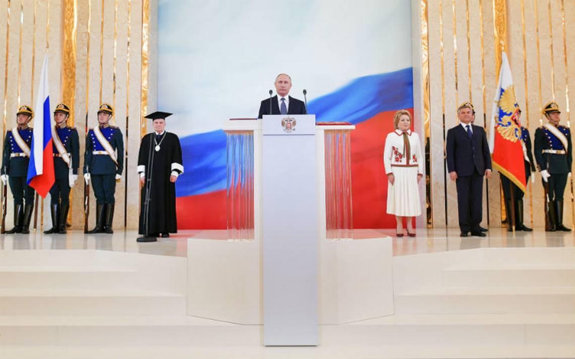 Putin jura para un cuarto mandato presidencial en Rusia
