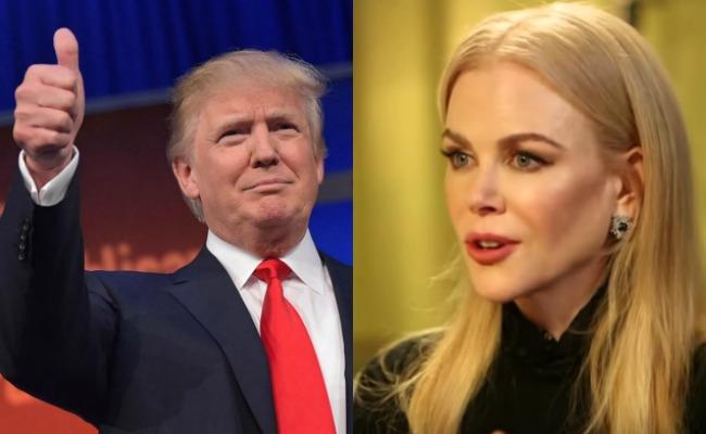 Nicole Kidman se manifiesta a favor de Trump y pide que lo apoyen