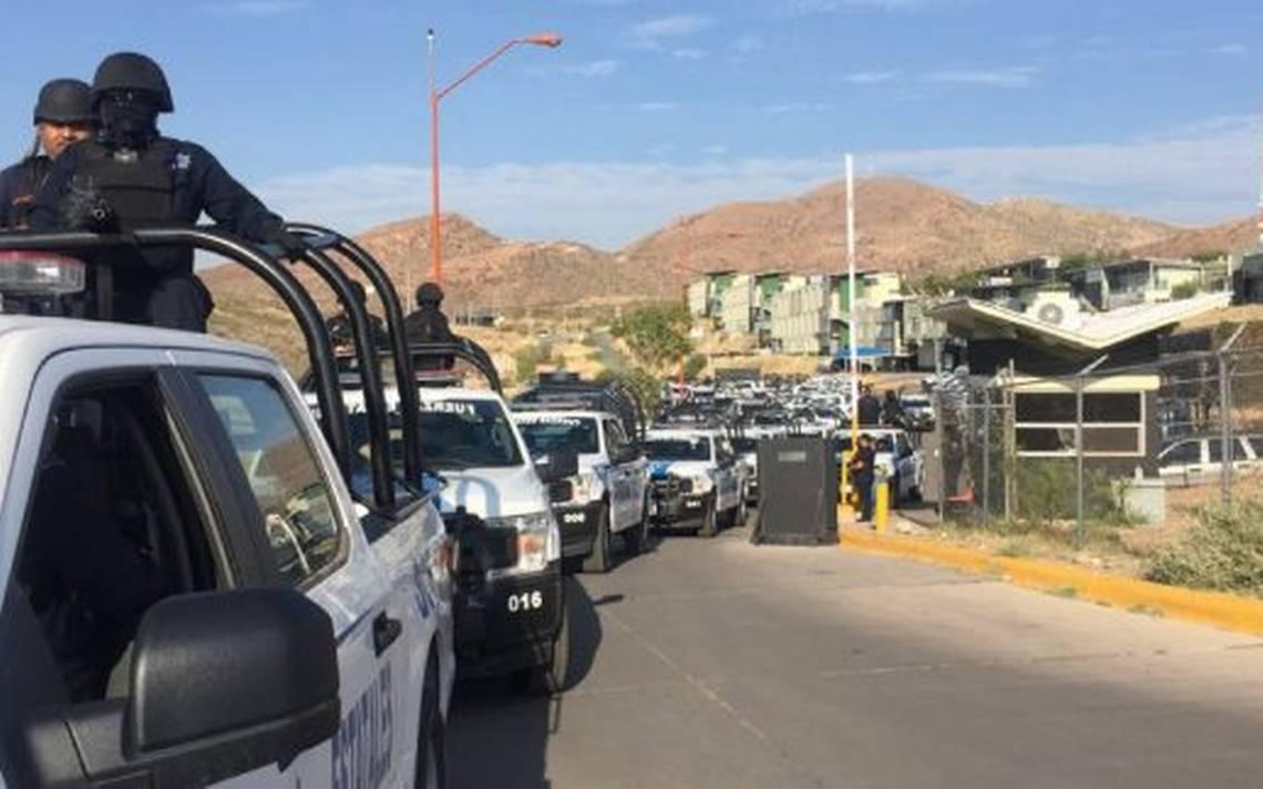 Llegan a Juárez casi un centenar de policías estatales
