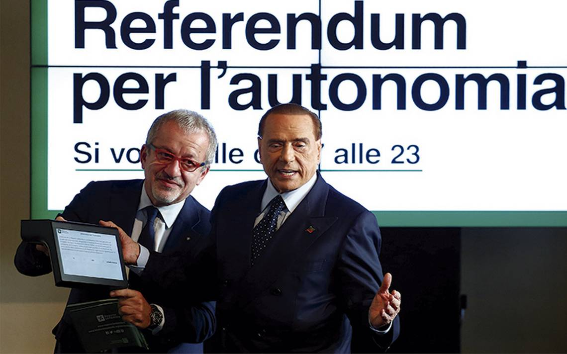 Reacción en cadena; alarman aires de autonomía en Italia