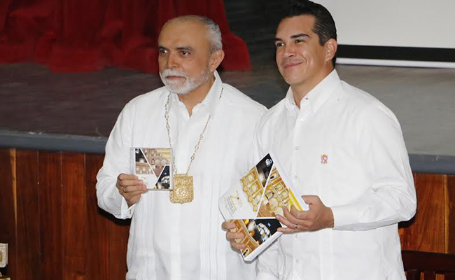 Respalda Alejandro Moreno al Benemérito Instituto Campechano