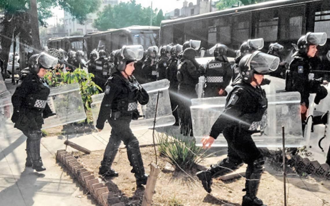 Cada mes hay 56 quejas contra policías: CDHDF