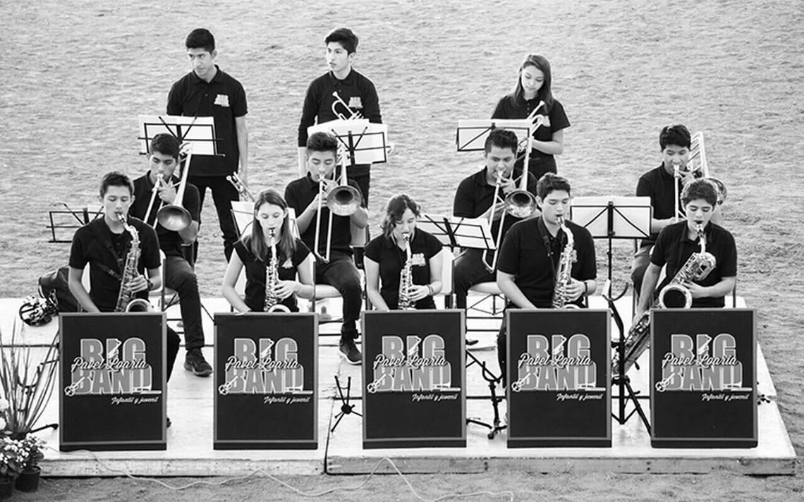 La Big Band infantil y juvenil de Pavel Loaria darán concierto en México