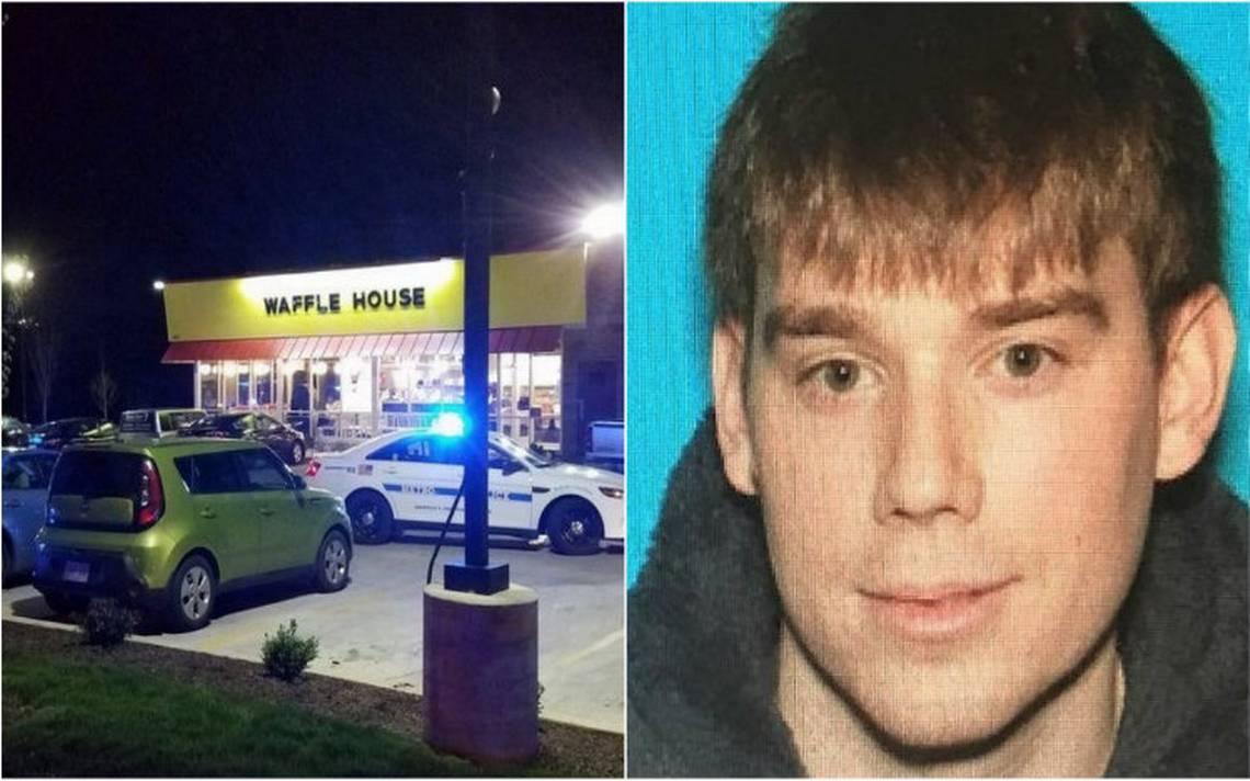 Hombre desnudo mata a cuatro personas en restaurante de Tennessee