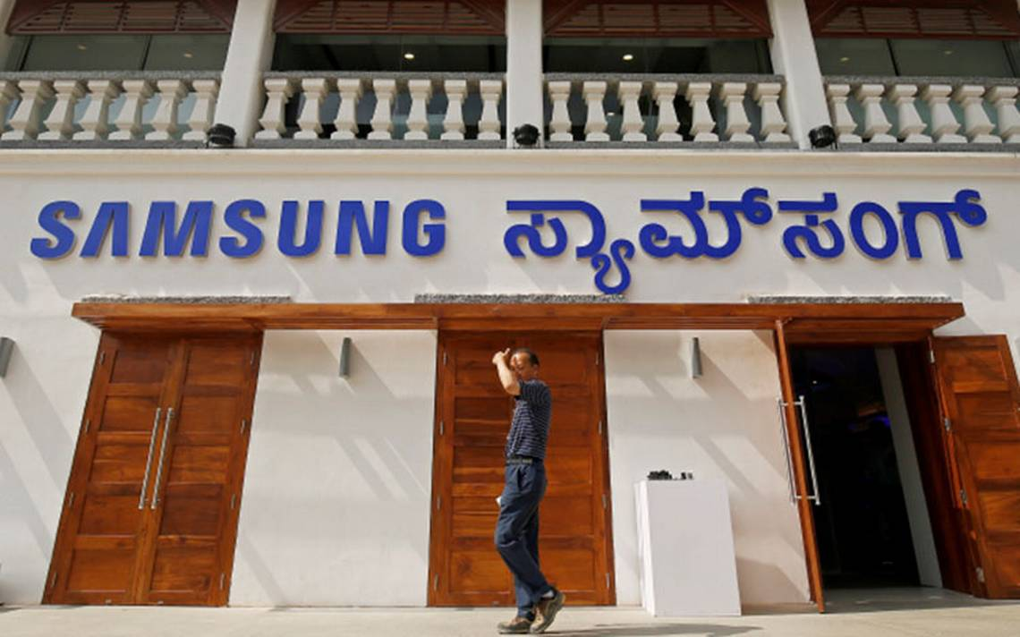 Samsung le gana a Apple y abre tienda en Bangalore, India