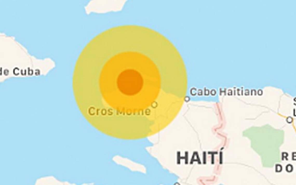 Sismo de magnitud 5.9 sacude a HaitA�