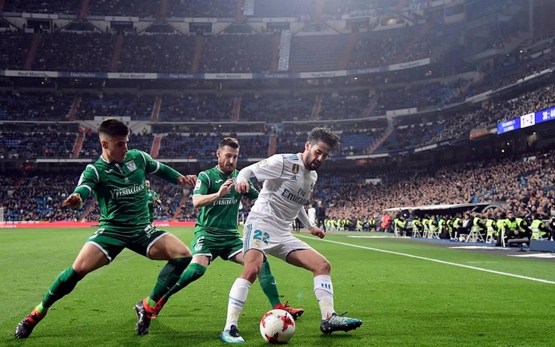 Real Madrid se despide de la Copa del Rey tras caer ante Leganés