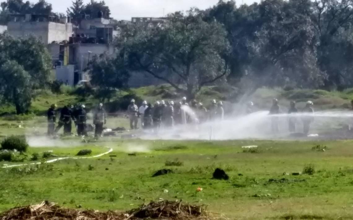 Fuga de gas por toma clandestina provoca evacuación de 500 pobladores en Ecatepec