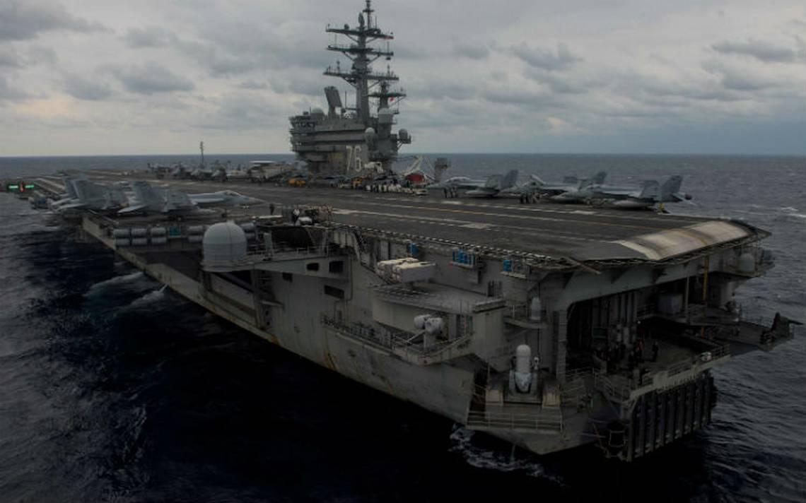 Avión de la Marina de EU se estrella en Mar de Filipinas; hay tres desaparecidos