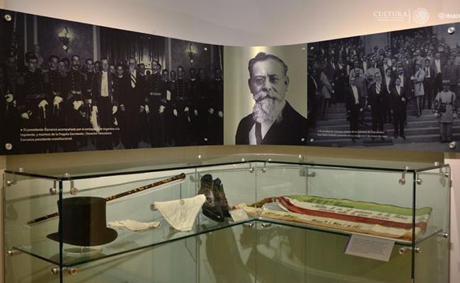 Reestructurará INAH  Museo Casa de Carranza