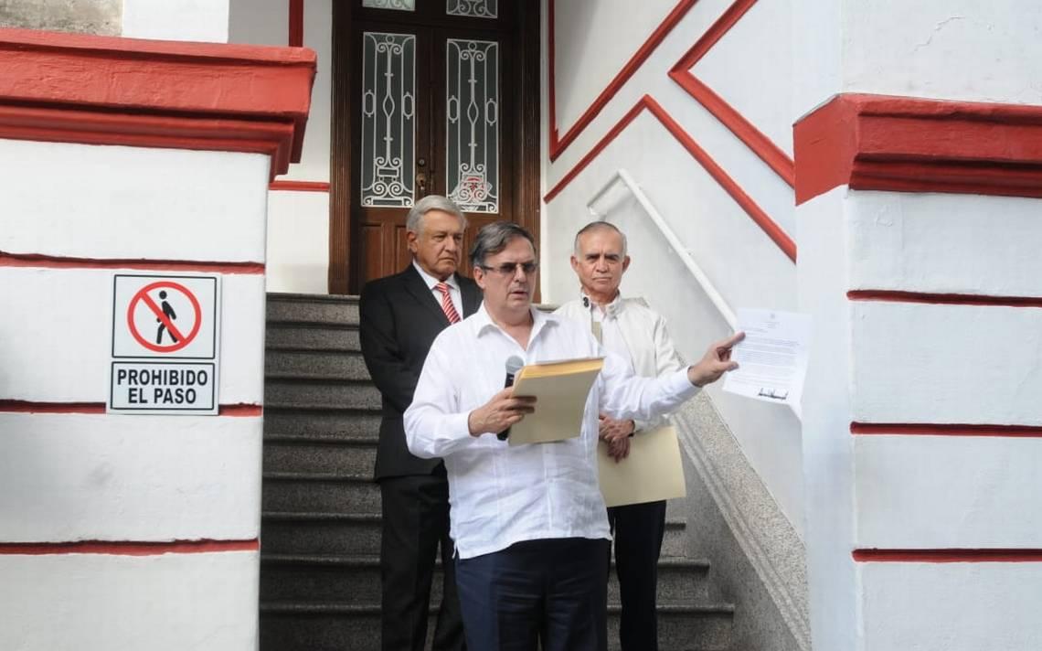 """Estimado López Obrador… Trump responde """"feliz"""" a carta de AMLO"""