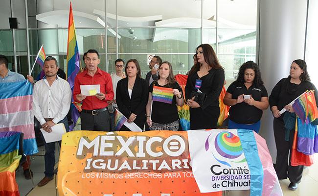 Piden al Congreso de Chihuahua derecho al matrimonio igualitario