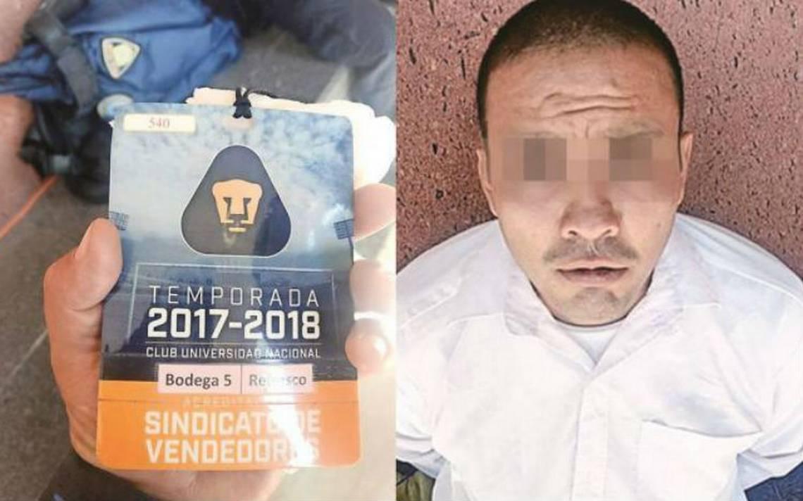 Investigan a sujeto detenido con droga previo a juego Pumas-Necaxa