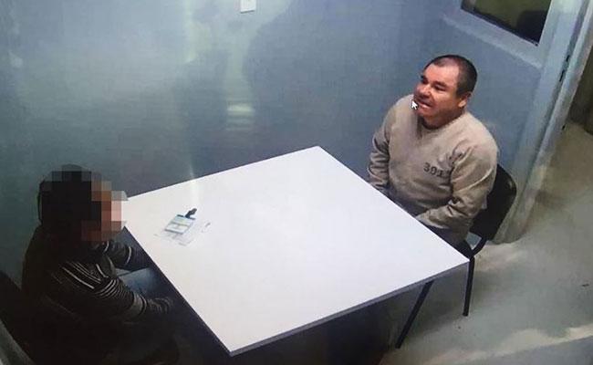 Confirman que El Chapo Guzmán seguirá por video su próxima audiencia