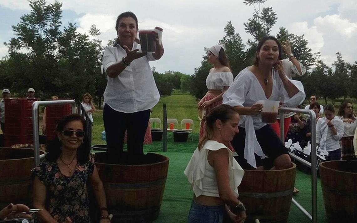 Celebra Chihuahua la cosecha de  la uva