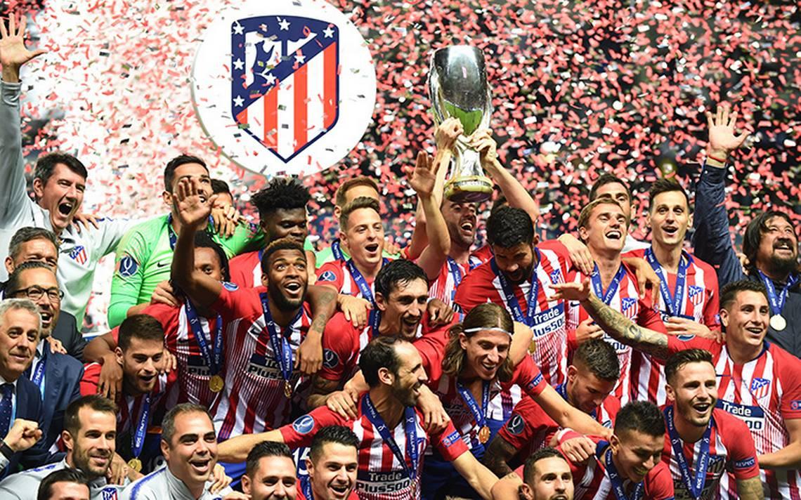 Atlético de Madrid se impone a los merengues y conquista la Supercopa