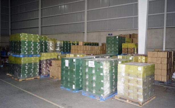 Recuperan 80 mil botellas de whisky robadas