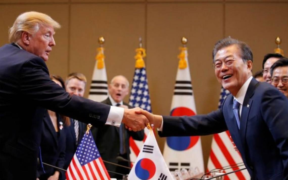 Trump deberA�a ganar Premio Nobel de la Paz, dice presidente de Corea del Sur