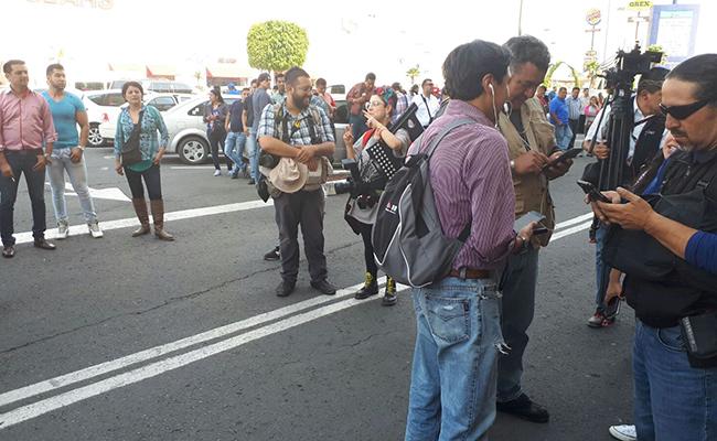 Ocasionan destrozos en hotel de Ecatepec donde Monreal operaba para Morena