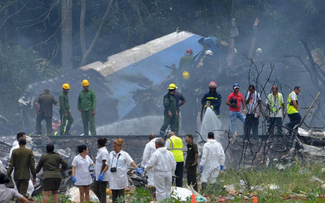 Familiares llegan a La Habana para identificar a víctimas de accidente aéreo