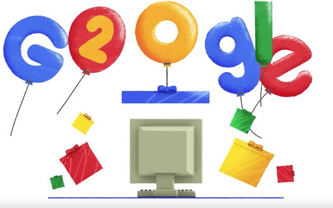 [Video] ¡Feliz cumpleaños Google! El famoso buscador celebra 20 años