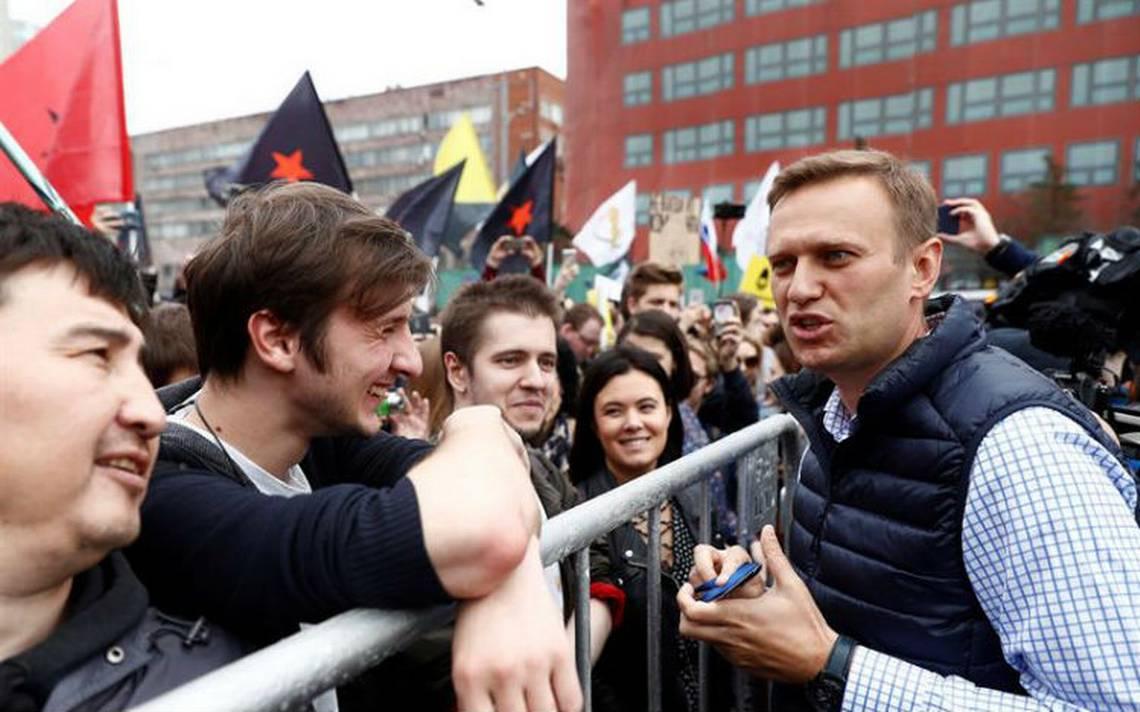 Liberan al opositor Navalni tras ser detenido en protesta contra Putin